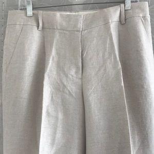 NWT J. Crew Linen Pants
